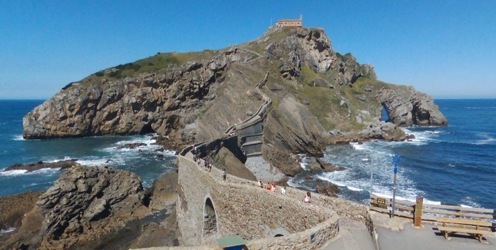 Islote de Gaztelugatxe en Bermeo Bizkaia Vizcaya Euskadi