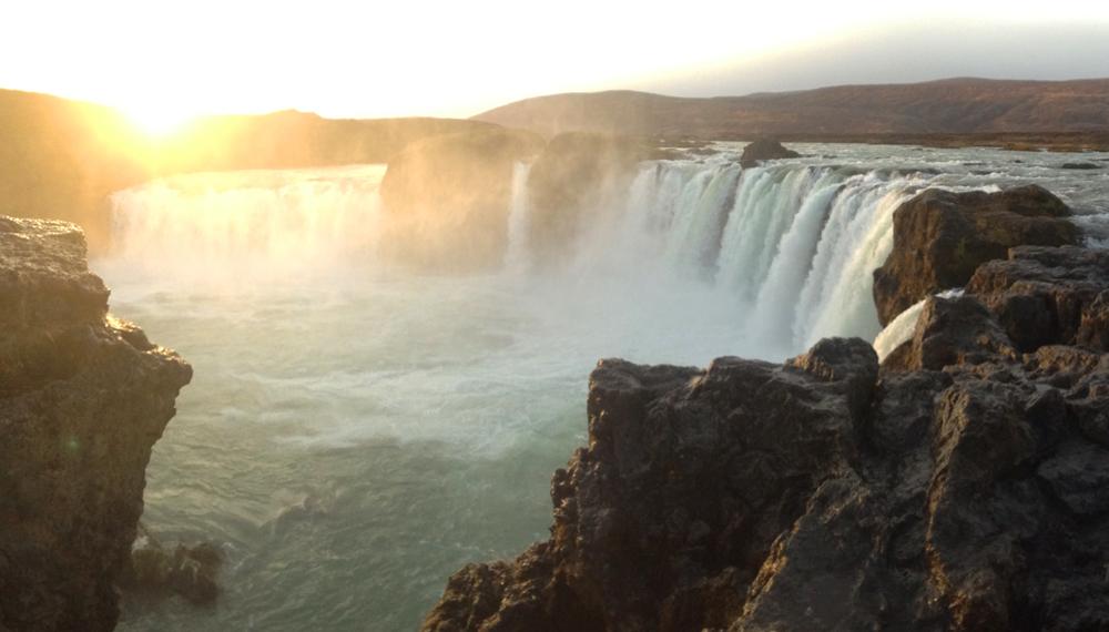 godafoss islandia cascada dioses