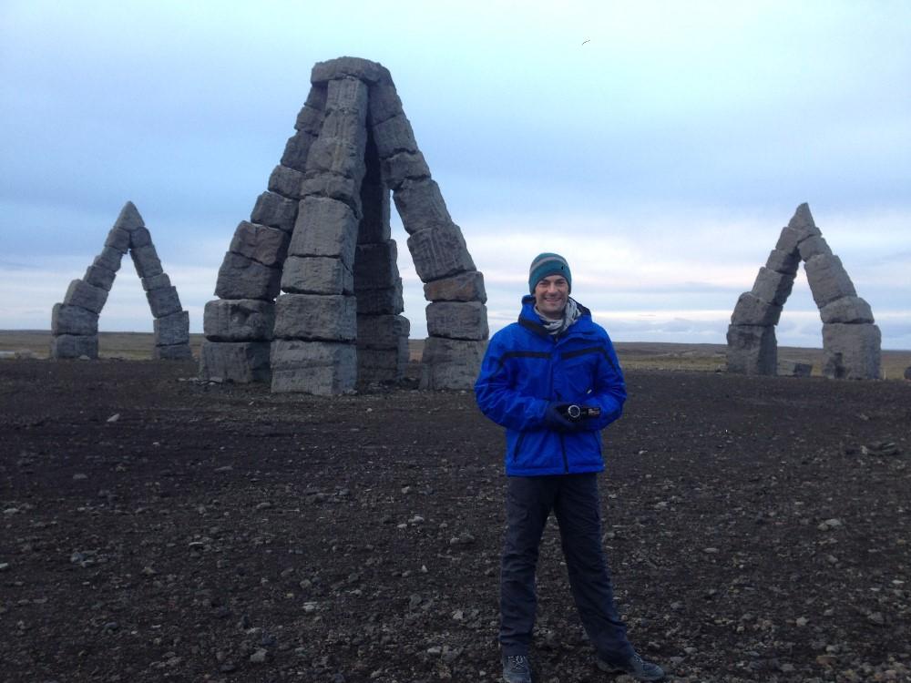 El Artirc Henge Islandia itinerario todoterreno