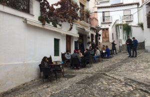 Café 4 gatos en Granada