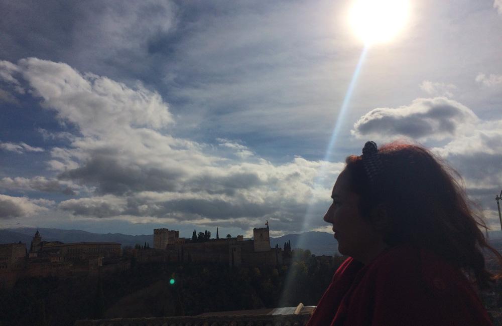 Mirador de San Nicolás desde donde se ve La Alhambra