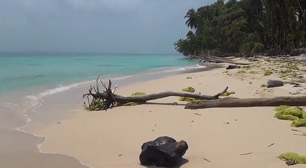 playa, cayo zapatilla, panama, iati, seguro