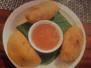 comida enm el casco antiguo de panama