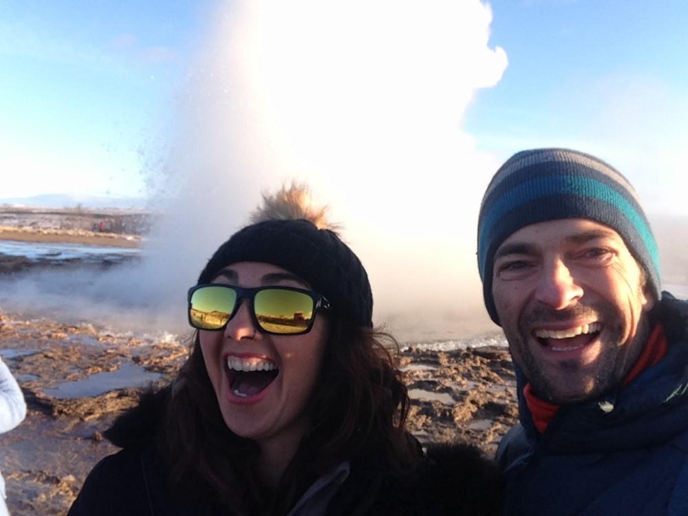 géyser Islandia itinerario todoterreno