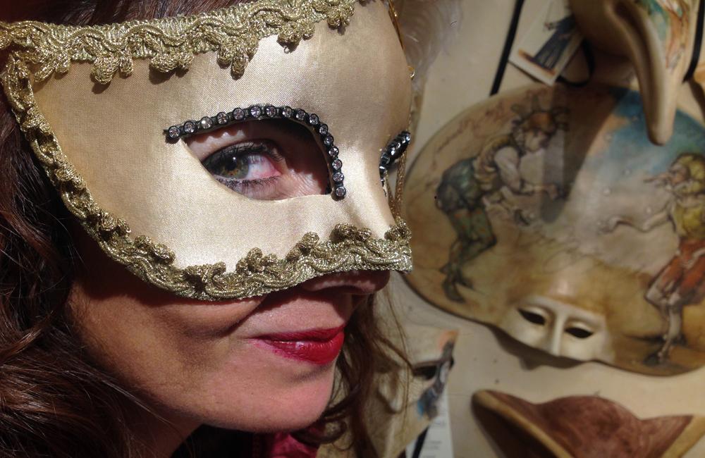 venecia mascara carnaval italia canal puente