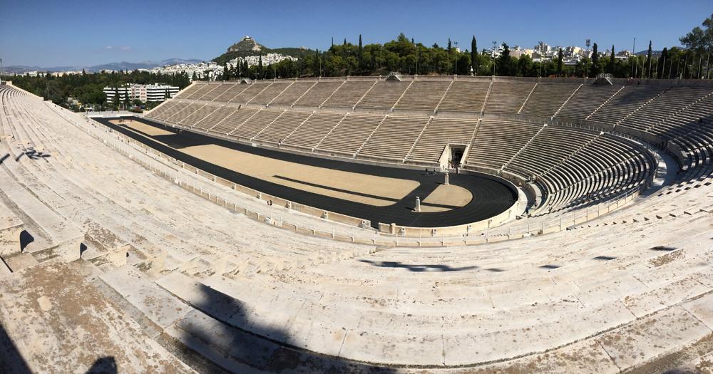 atenas, grecia, estadio, kallimarmaro, panathenaico