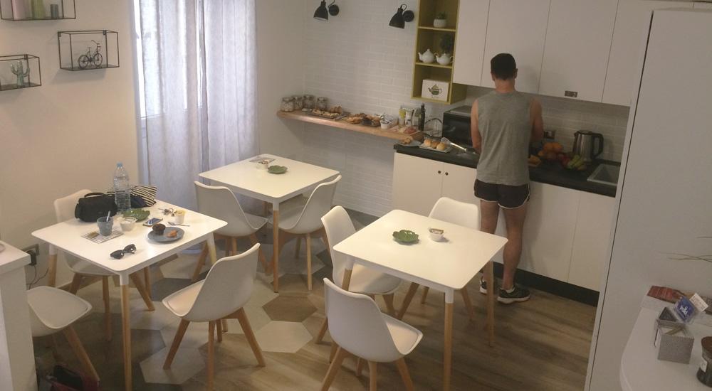 cocina y comedor