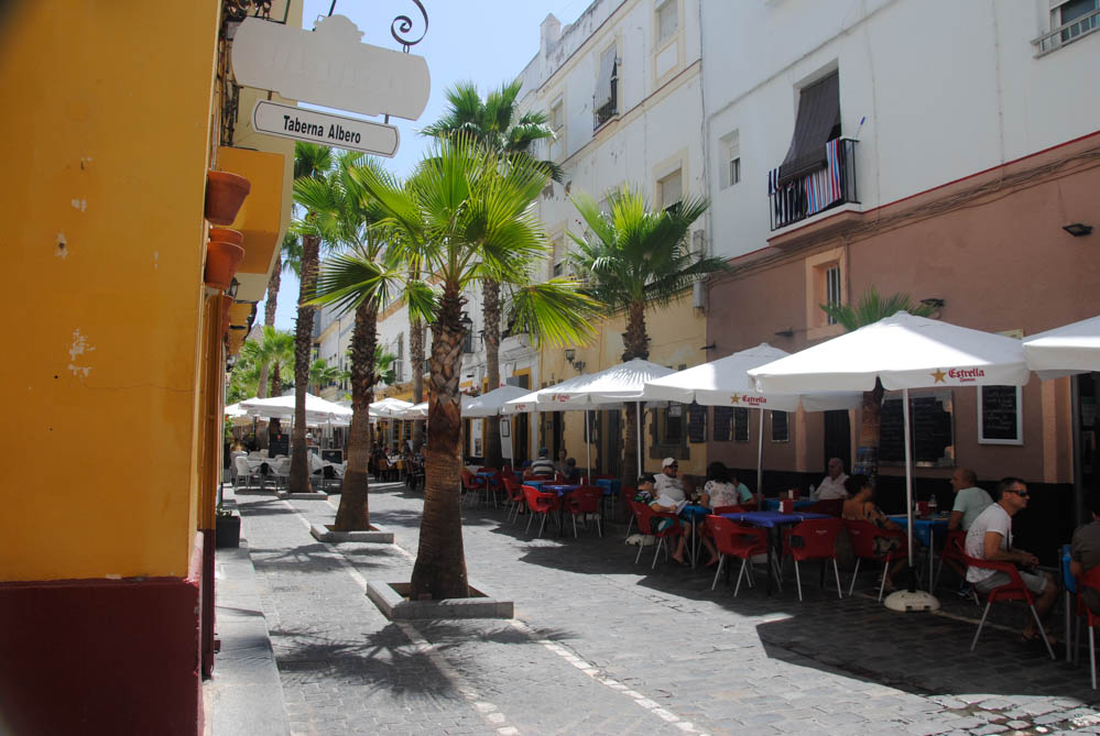 El barrio de la Viña de Cádiz