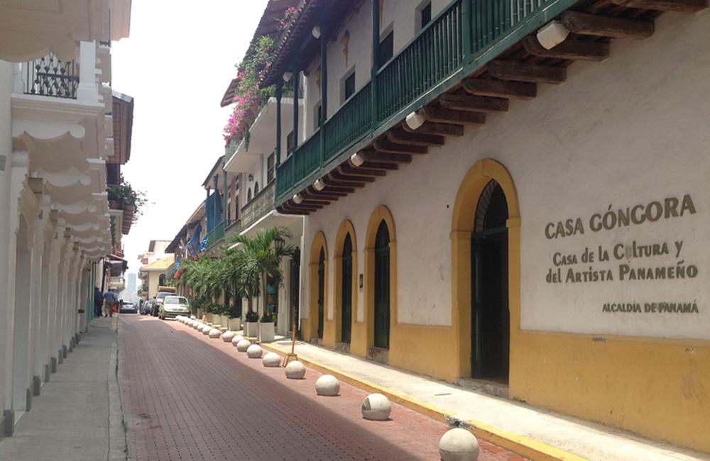 El casco antiguo de Panamá