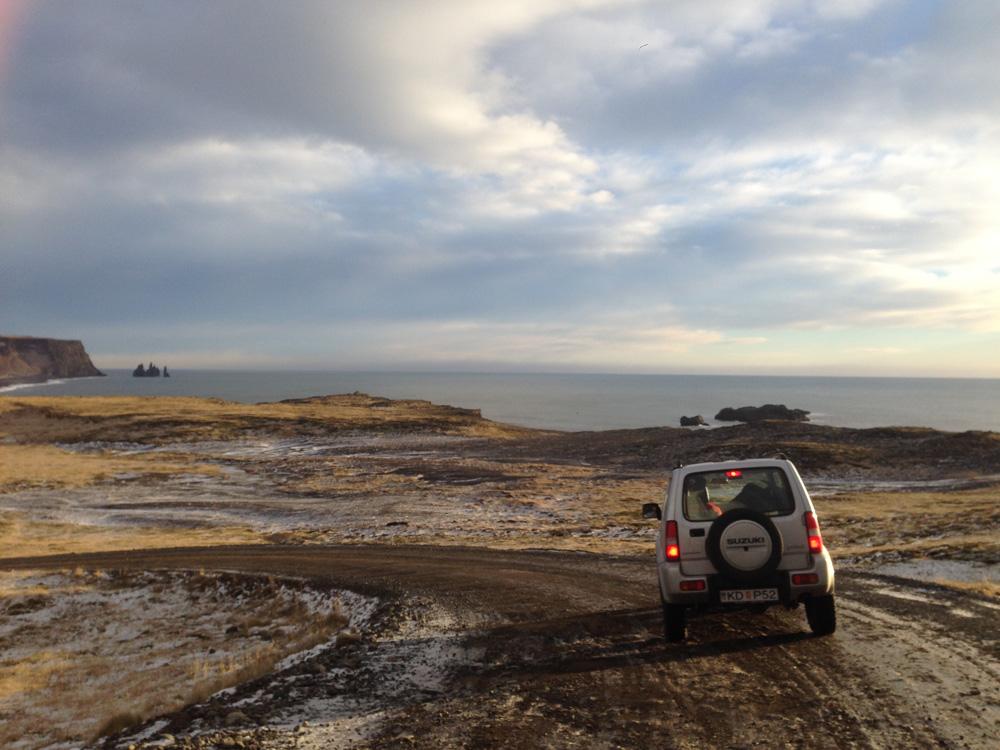Este es nuestro todoterreno en Islandia