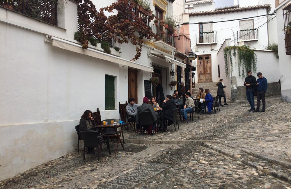 Ruta de senderismo en Granada con niños