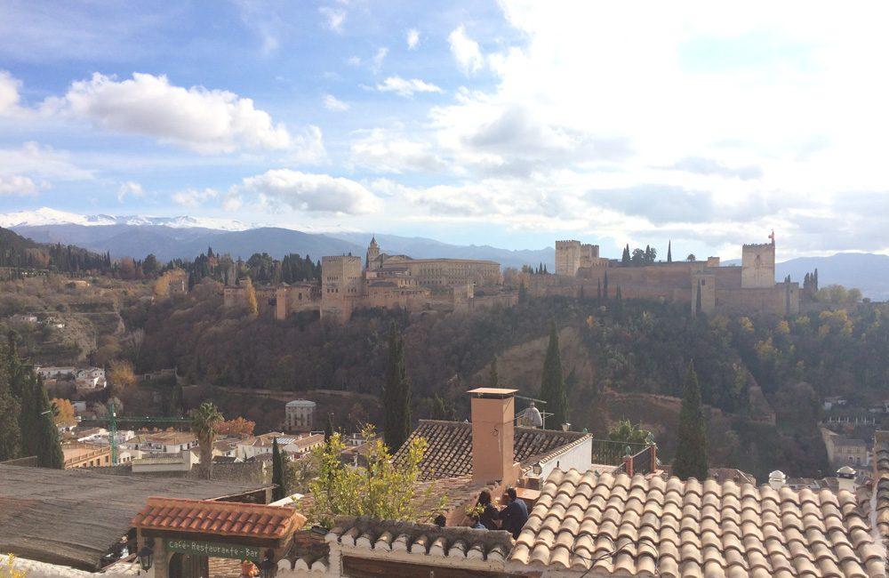 Mirador San Nicolás para ver la Alhambra (Granada)