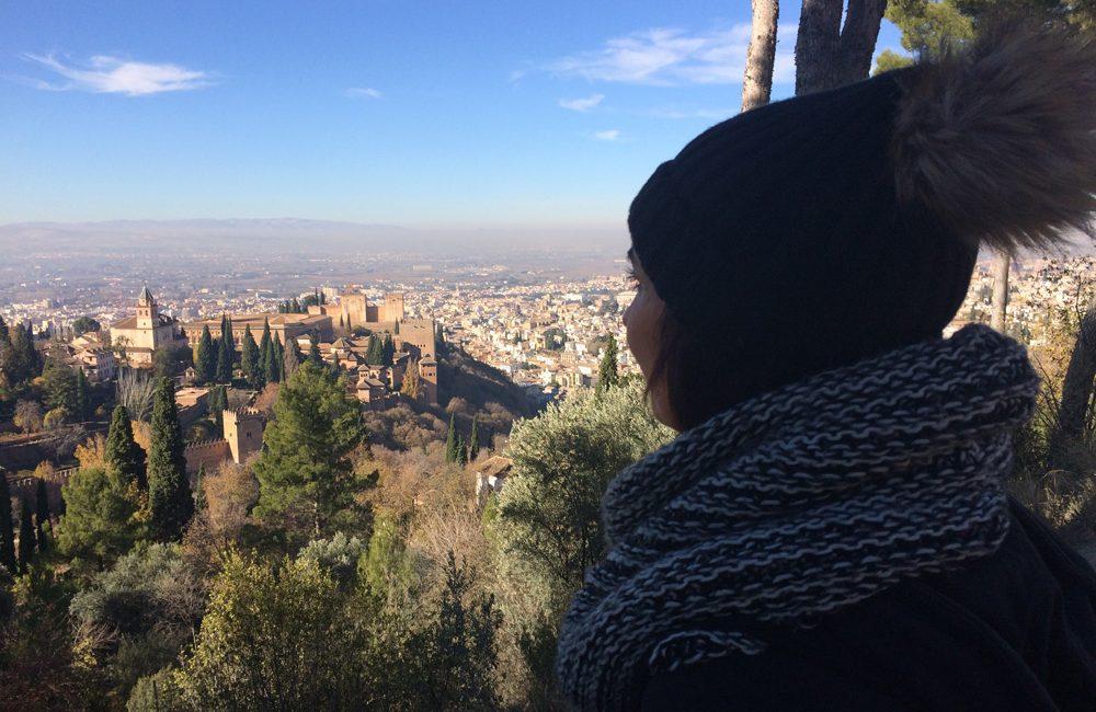 Mirador de silla del moro en Granada.