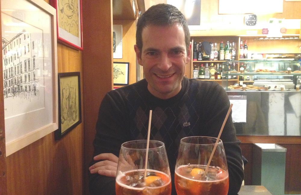 Este es uno de los sitios de Venecia donde tomar un Spritz barato