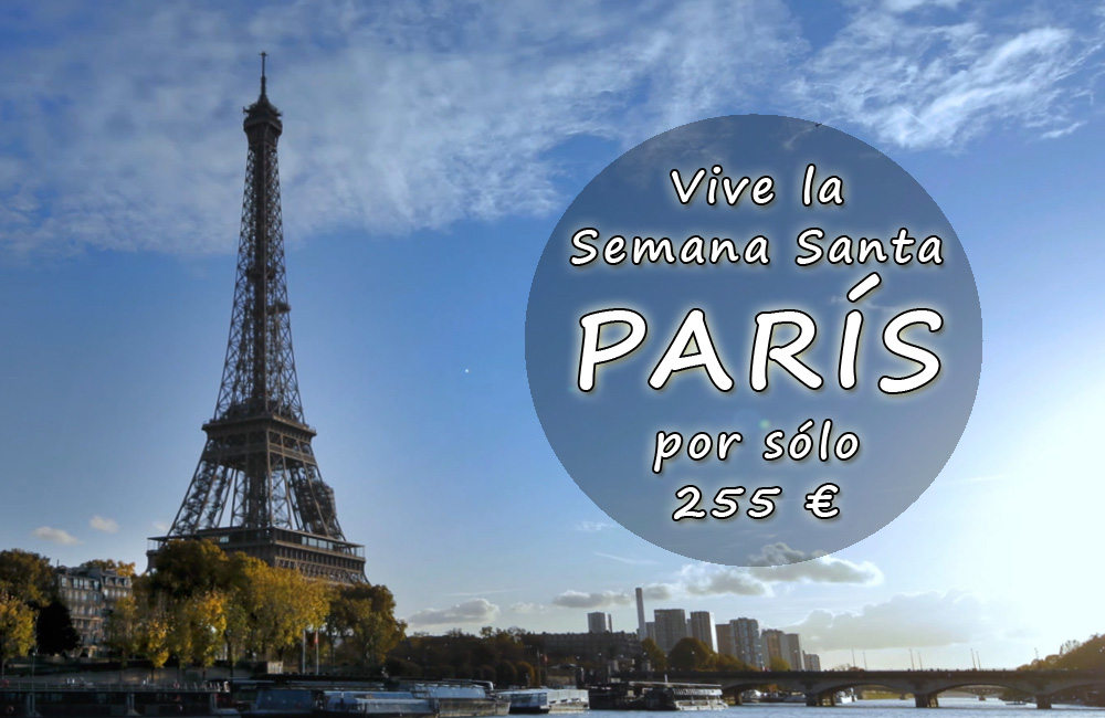 chollo viaje oferta paris francia