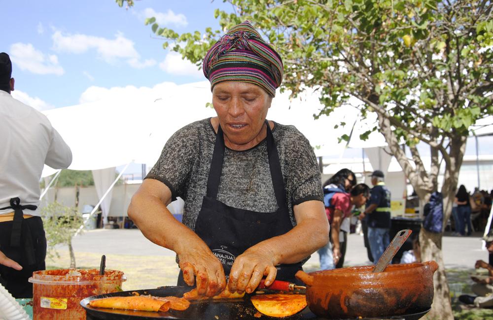 Gastronomía en guanajuato (México)