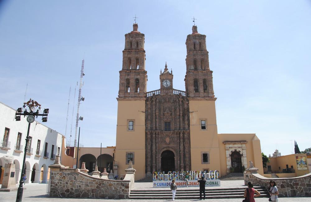 Iglesia en Dolores Hidalgo (Mexico)