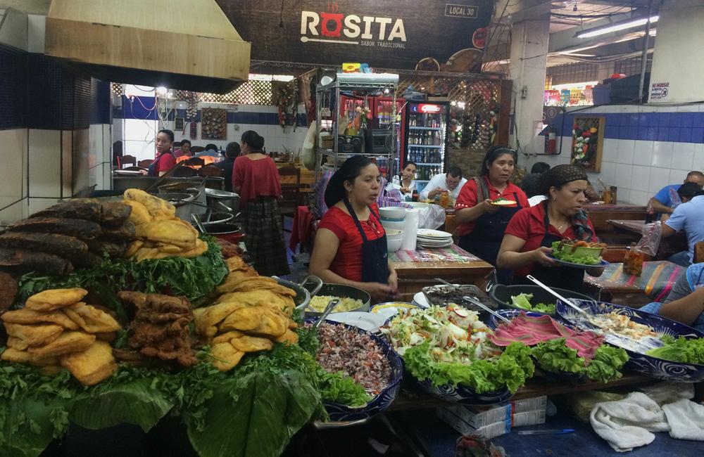 Mercado en Ciudad de Guatemala