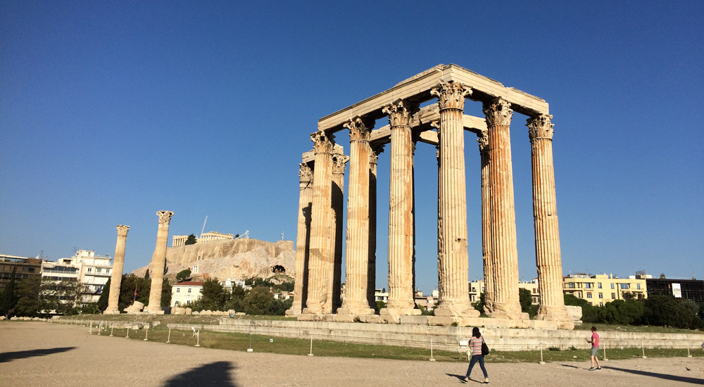 atenas, grecia, templo, zeus, acropolis