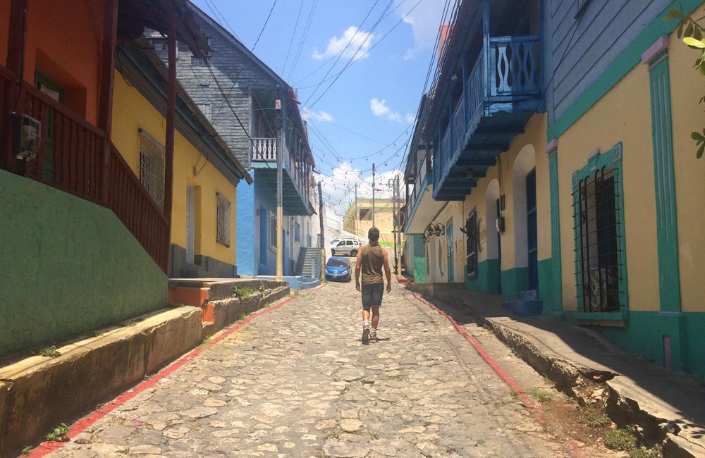 Calle de Flores, Petén (Guatemala)