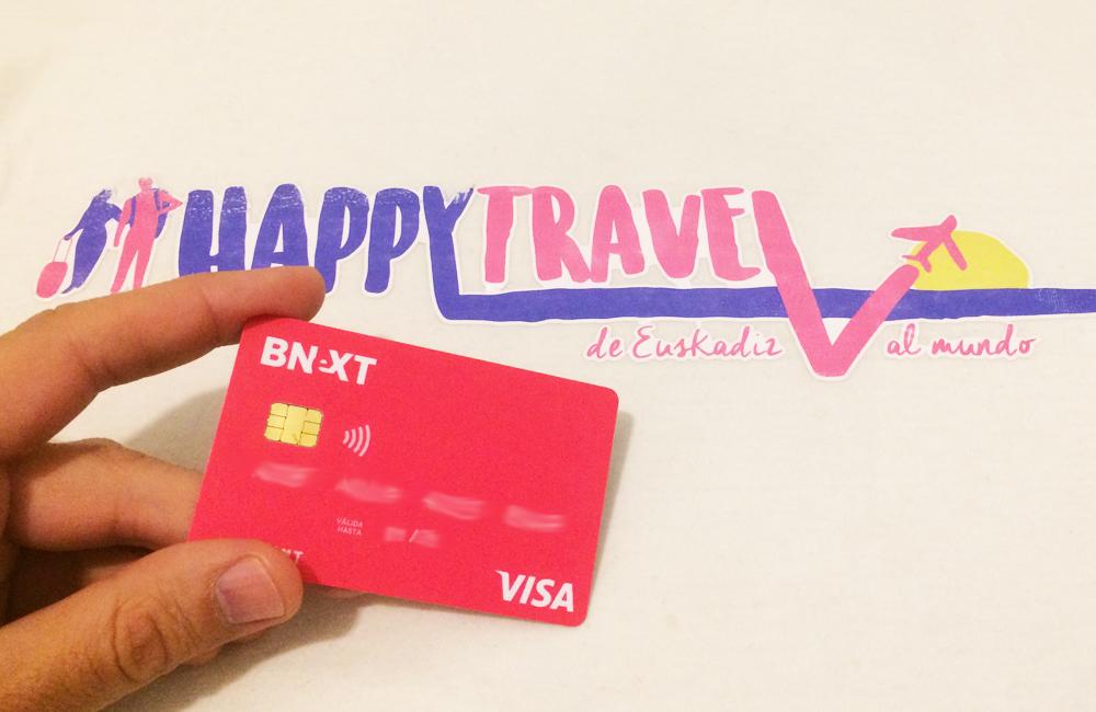 bnext, tarjeta, viajar, visa