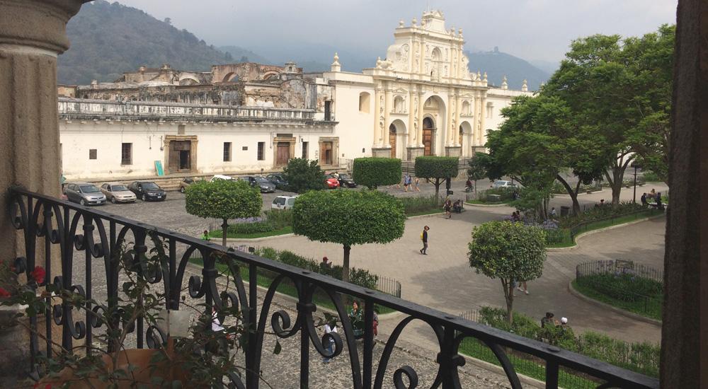 Catedral de San José en Antigua de Guatemala