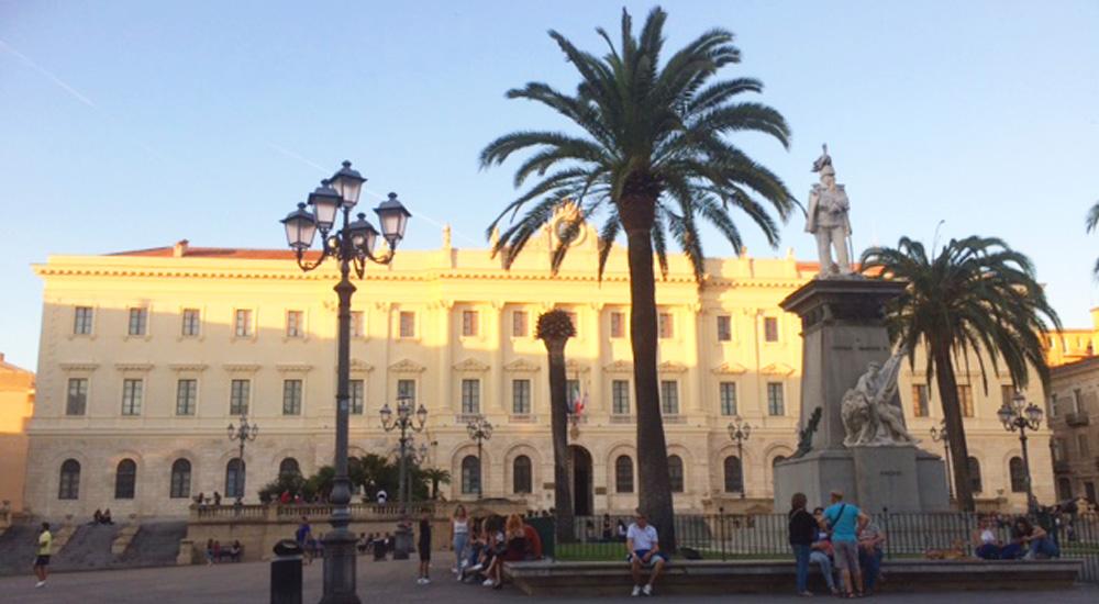 plaza italia de sassari