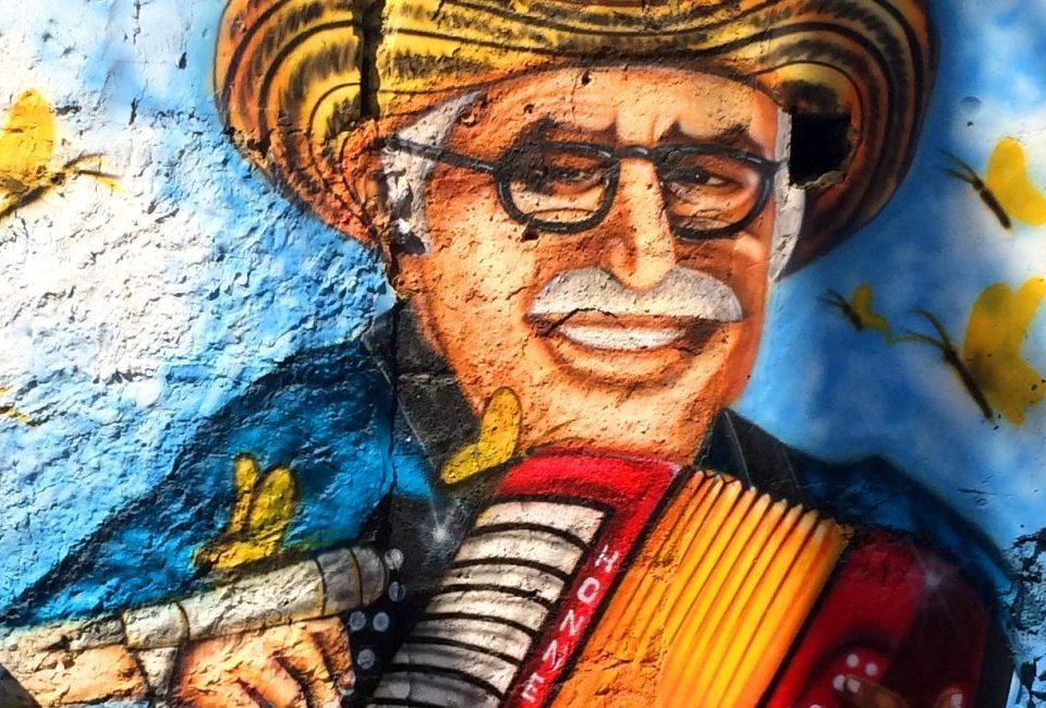 graffiti en cartagena de indias Colombia)