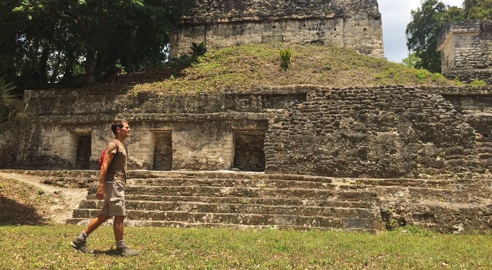 plaza tikal siete templos guatemala