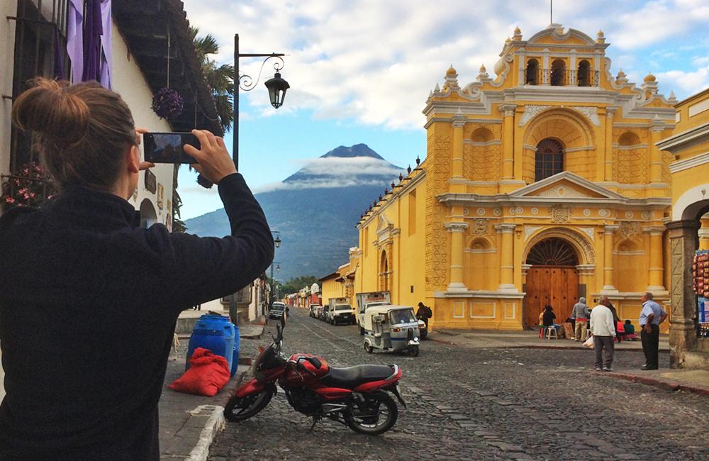 volcan de agua, volcan,antigua, guatemala,naturaleza