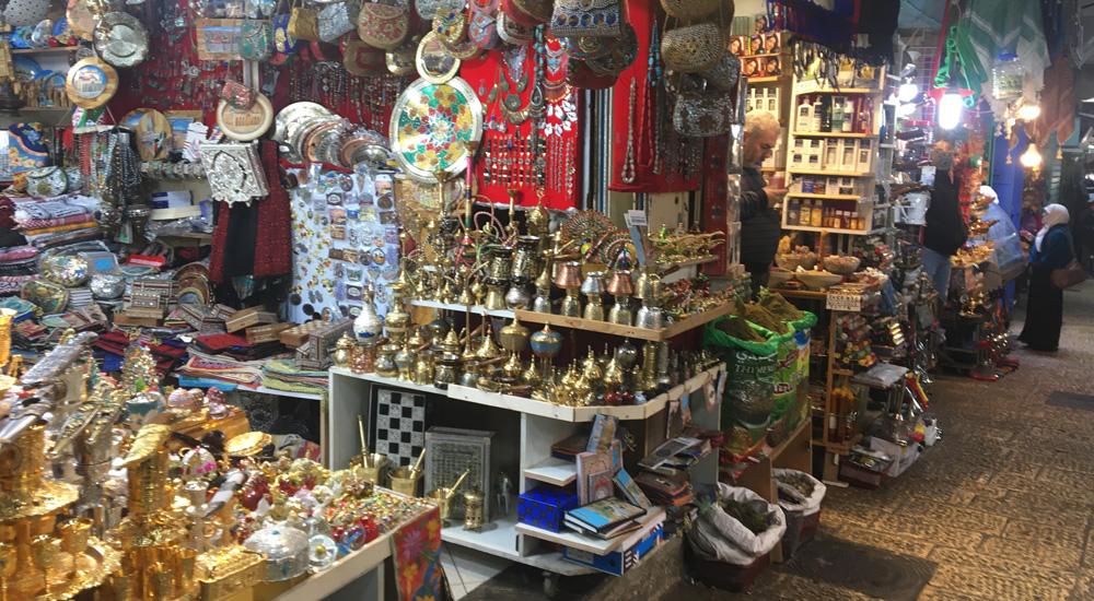 barrio souvenirs Jerusalén