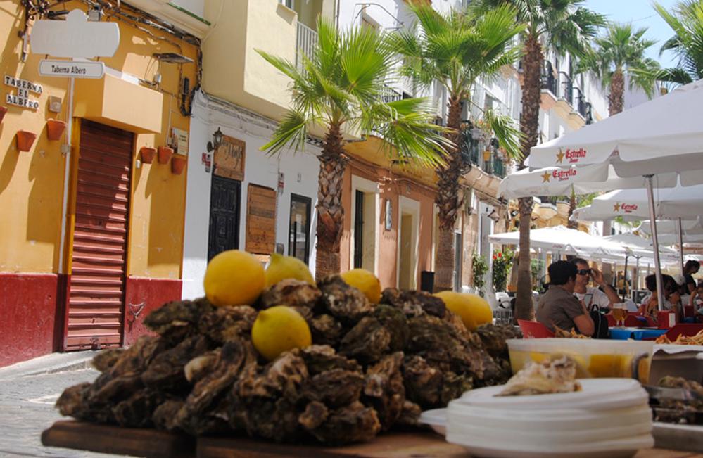 La calle La Palma de Cádiz