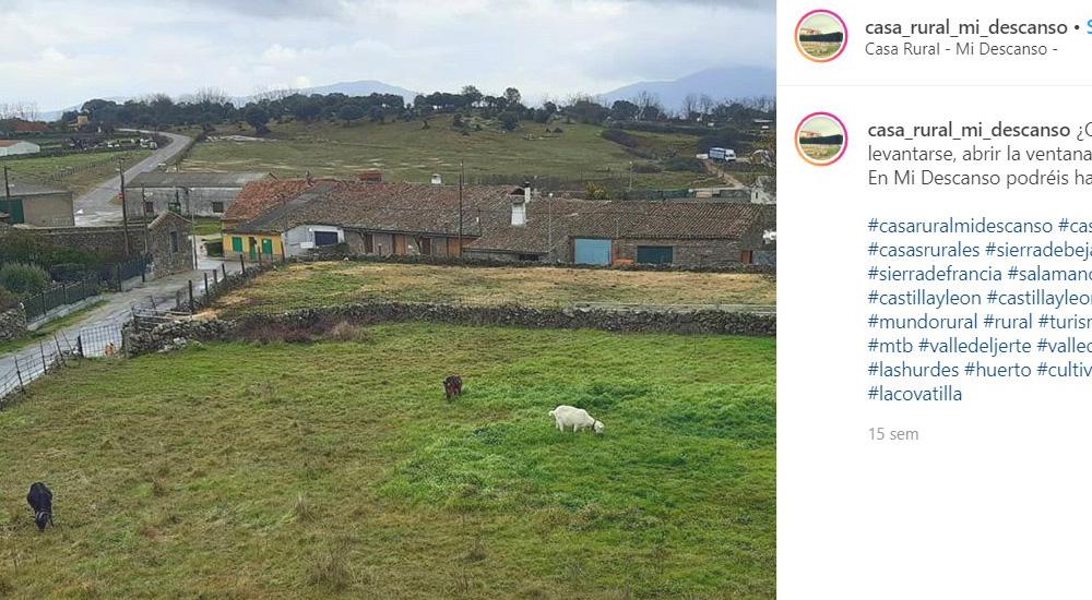 Alojamiento rural en Valdefuentes de Sangusín (Salamanca)