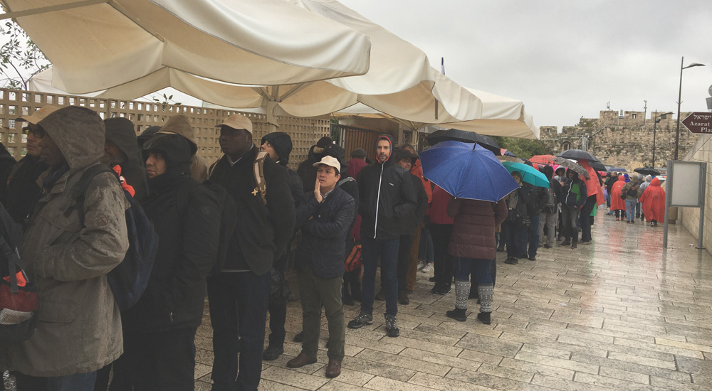 Qué hay que ver en Jerusalén. Cola para no musulmanes para ver la Cúpula Dorada