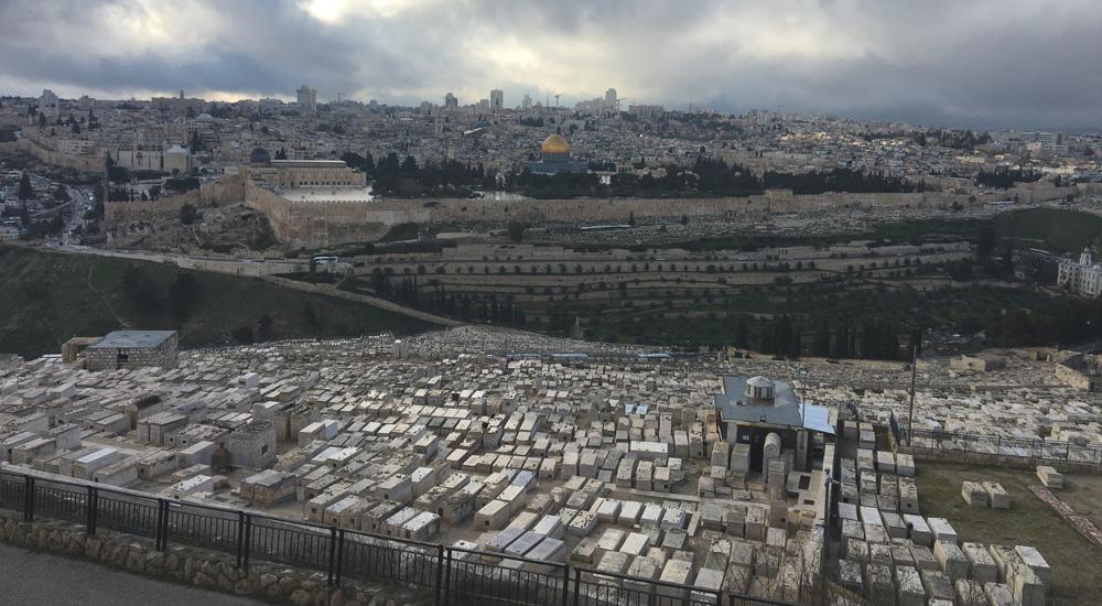 Que ver en Jerusalén en 3 días: Vista desde el monte de los olivos