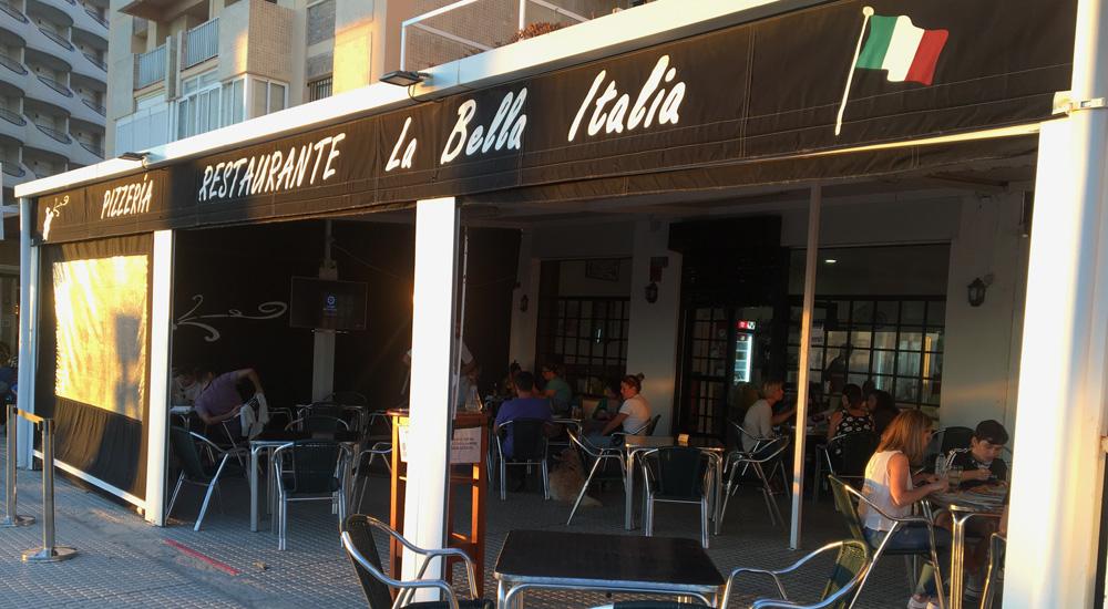 Pizzería La Bella Italia de Cádiz