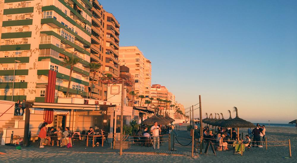Chiringuito Nahu beach en Cádiz