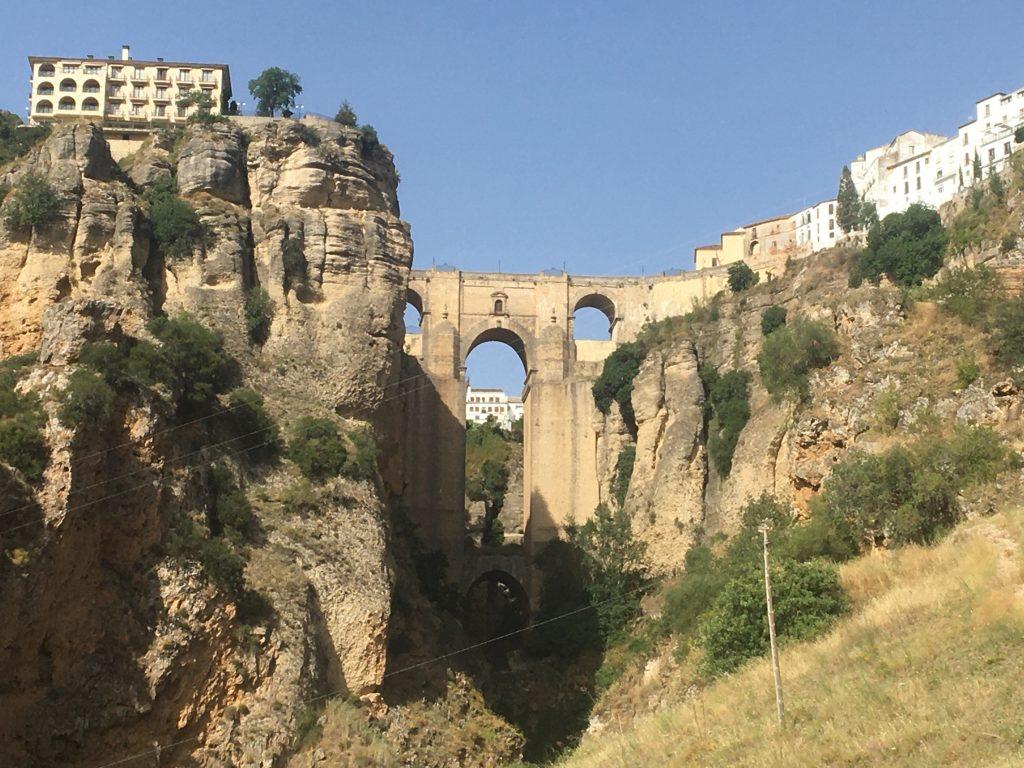 Qué ver en Ronda y alrededores. Mirador del Puente Nuevo.