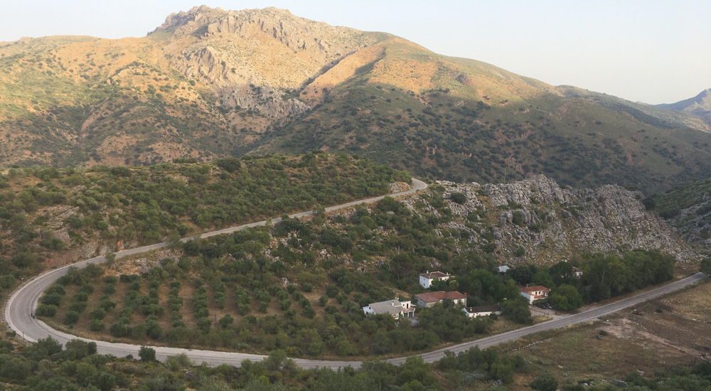 Vistas desde la Cueva de la Pileta
