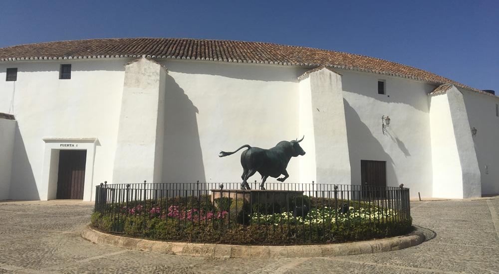 Qué ver en Ronda y alrededores. Plaza de toros de Ronda.