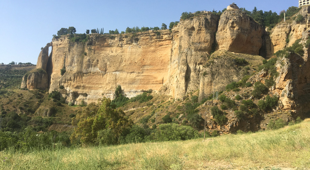 Qué ver en Ronda y alrededores. Vistas de la serranía de Ronda desde el Mirador del Puente Nuevo