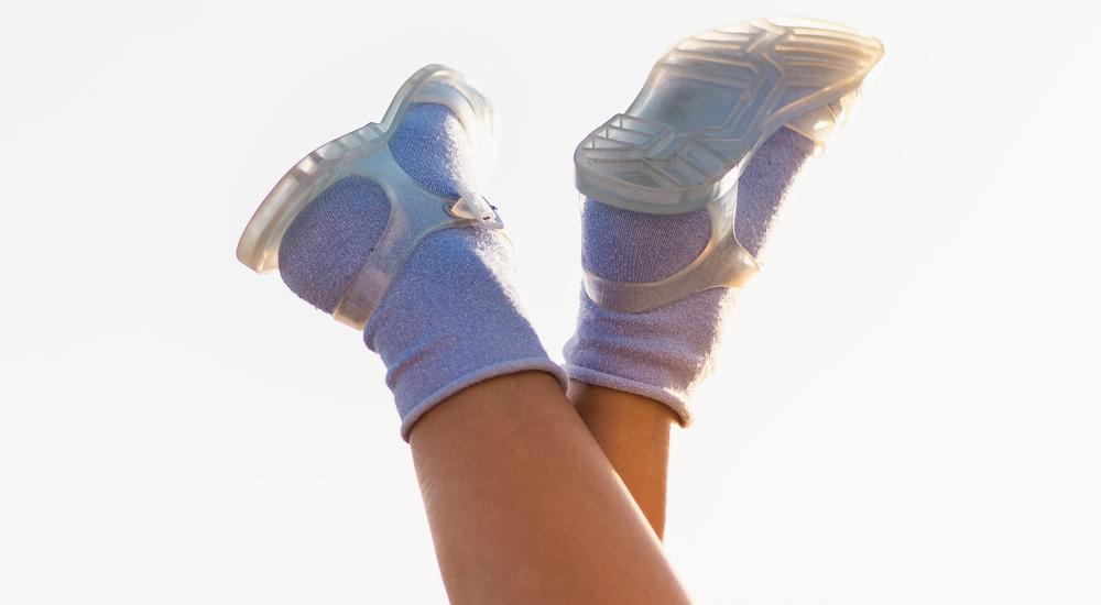 Cangrejeras con calcetines