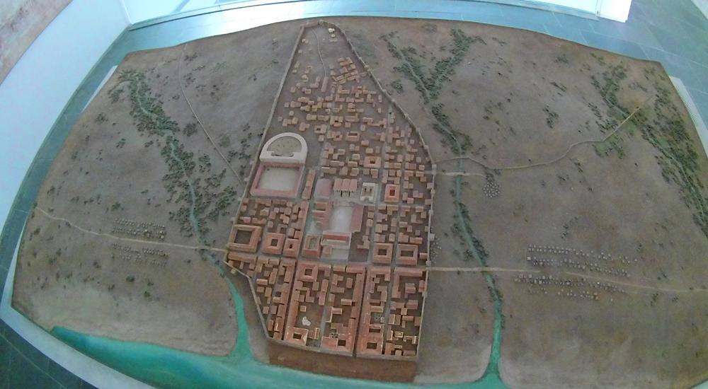Maqueta que puedes ver en el museo de Baelo Claudia