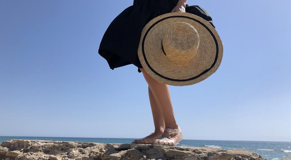 evitar el roce de las sandalias